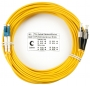 Шнур оптический duplex LC-FC 9/125 sm 20м LSZH