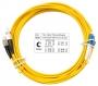 Шнур оптический duplex LC-FC 9/125 sm 7м LSZH