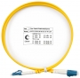Шнур оптический duplex LC-LC 9/125 sm 1м LSZH