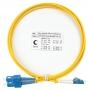 Шнур оптический duplex LC-SC 9/125 sm 1,5м LSZH