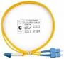 Cabeus FOP(d)-9-LC-SC-1m Шнур оптический duplex LC-SC 9/125 sm 1м LSZH