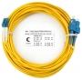 Шнур оптический duplex LC-SC 9/125 sm 20м LSZH