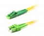 Шнур оптический duplex LC/APC-SC/APC 9/125 sm 1,5м LSZH