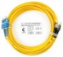 Шнур оптический duplex SC-FC 9/125 sm 1,5м LSZH