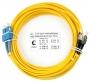 Шнур оптический duplex SC-FC 9/125 sm 20м LSZH