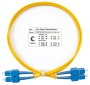 Шнур оптический duplex SC-SC 9/125 sm 1м LSZH