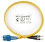 Шнур оптический duplex SC-ST 9/125 sm 1м LSZH