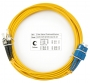 Шнур оптический duplex SC-ST 9/125 sm 20м LSZH