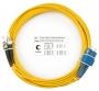 Шнур оптический duplex SC-ST 9/125 sm 25м LSZH