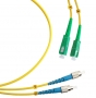 Шнур оптический duplex SC/APC-FC/UPC 9/125 sm 25м LSZH