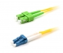 Шнур оптический duplex SC/APC-LC/UPC 9/125 sm 25м LSZH