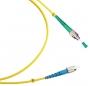 Шнур оптический simplex FC/APC-FC/UPC 9/125 sm 1м LSZH