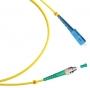 Шнур оптический simplex FC/APC-SC/UPC 9/125 sm 1м LSZH