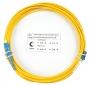 Шнур оптический simplex LC-SC 9/125 sm 20м LSZH