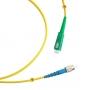 Шнур оптический simplex SC/APC-FC/UPC 9/125 sm 25м LSZH