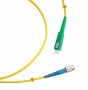 Шнур оптический simplex SC/APC-FC/UPC 9/125 sm 3м LSZH