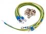 Набор кабелей заземления (30см - 6 шт, 40см- 2шт, гайка с фланцем - 16 шт)