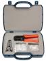 Набор инструментов (инструмент обжимной для RJ-45, RJ-12, зачистка, 30х8P8C, 30x6P6C)