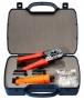 Набор инструментов (инструмент обжимной для RJ-45, RJ-12, инструмент для заделки витой пары 110/66 типа, 30х8P8C, 30x6P6C)