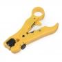 Многофункциональный инструмент для зачистки и обрезки витой пары и коаксиальных кабелей
