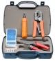 Набор инструментов (инструмент обжимной для RJ-45, RJ-12, инструмент для заделки витой пары 110 типа, обрезка, тестер)
