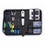 Набор инструментов (инструмент обжимной, инструмент для заделки витой пары , зачистки, отвертки, тестер, коннекторы )