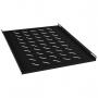 Полка перфорированная глубиной 700 мм для открытых стоек, цвет черный (RAL 9004)