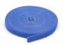 Лента (липучка) в рулоне, ширина 9 мм, длина 5 м, синяя