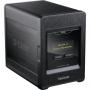 Сетевой дисковый накопитель с четырьмя отсеками для жестких дисков (4xHDD 3.5' SATA, RAID 0/1/10/5/5+spare, JBOD, Standard, 2x10/100/1000Mbps, 1xUSB2.0)