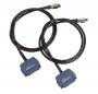 Комплект из двух адаптеров для тестирования постоянной линии (кат. 7A/Fa класса) TERA