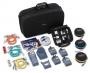Комплект модулей для кабельных анализаторов серии DTX: включает комплекты для измерения потерь DTX-MFM2, DTX-SFM2, модуль DTX Compact OTDR, компенсационные катушки и аксессуары