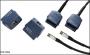 Адаптер Permanent Link с разъемом GG45 для кабельного анализатора DTX-1800, для тестирования канала Class F, одна штука