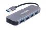 Концентратор с 4 портами USB 3.0 (1 порт с поддержкой режима быстрой зарядки)
