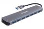 Концентратор с 7 портами USB 3.0 (1 порт с поддержкой режима быстрой зарядки)