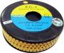 Маркер для кабеля 18-12AWG L=4M, желтый Hyperline