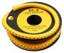 Маркер для кабеля д.7.4мм, цифра 0 Hyperline