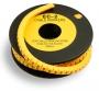 Маркер для кабеля д.7.4мм, цифра 5 Hyperline
