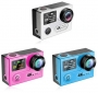 Экшн камера EKEN H8PRO Ultra HD 4K 30 fps, 1080P 60 fps, 720P 120 fps, с пультом ДУ 2.4 Гц, процессор: Ambarella A12, сенсор: Sony IMX078 12 Mpx, 2 дисплея