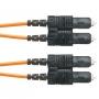 Волоконно-оптический патч-корд SC-SC, многомодовый 50/125 (OM2), duplex, 3 мм, LSZH, 2 м (замена F5LD3-3M2) PANDUIT