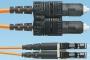 Многомодовый дуплексный патч-корд SC-LC 50/125 (OM2), LSZH, 2м PANDUIT