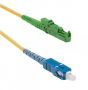 Патч-корд волоконно-оптический (шнур) SM 9/125 (OS2), E2000/APC-SC/APC, simplex, 1 м Hyperline