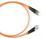 Патч-корд волоконно-оптический (шнур) MM 50/125, FC-FC, 2.0 мм, duplex, LSZH, 10 м Hyperline