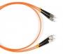 Патч-корд волоконно-оптический (шнур) MM 50/125, FC-FC, 2.0 мм, duplex, LSZH, 1 м Hyperline