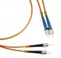 Патч-корд волоконно-оптический (шнур) MM 50/125, ST-FC, 2.0 мм, duplex, LSZH, 2 м Hyperline