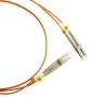 Патч-корд волоконно-оптический (шнур) MM 50/125, LC-LC, duplex, LSZH, 50 м, черный Hyperline