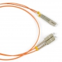 Патч-корд волоконно-оптический (шнур) MM 50/125, LC-SC, duplex, LSZH, 1 м Hyperline