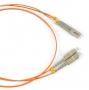 Патч-корд волоконно-оптический (шнур) MM 50/125, LC-SC, duplex, LSZH, 3 м, черный Hyperline