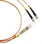 Патч-корд волоконно-оптический (шнур) MM 50/125, ST-LC, duplex, LSZH, 1 м Hyperline