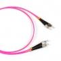 Патч-корд волоконно-оптический (шнур) MM 50/125(OM4), ST-FC, 2.0 мм, duplex, LSZH, 1 м Hyperline