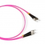Патч-корд волоконно-оптический (шнур) MM 50/125(OM4), ST-FC, 2.0 мм, duplex, LSZH, 2 м Hyperline